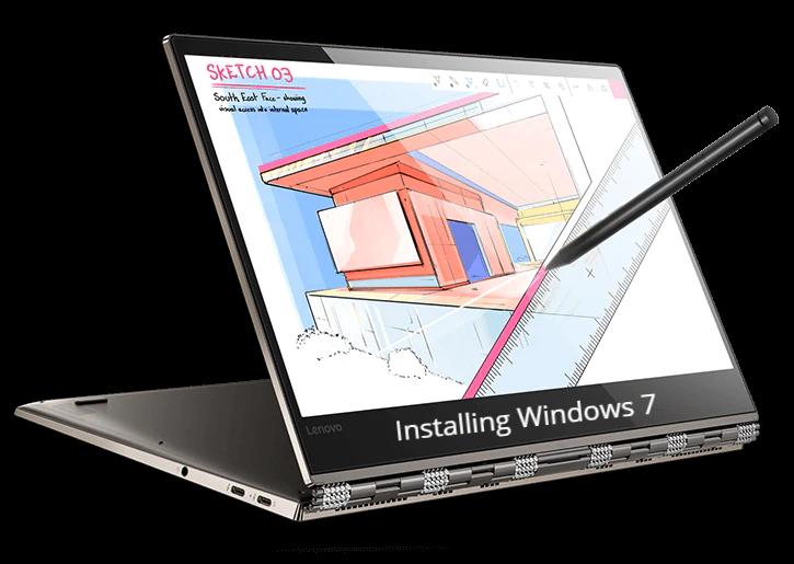 Install Windows 7 on Lenovo Yoga 920