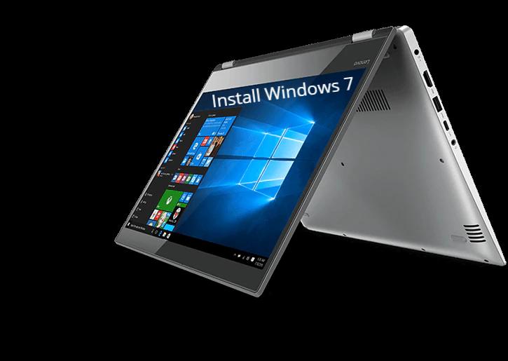 Install Windows 7 on Lenovo Yoga 520