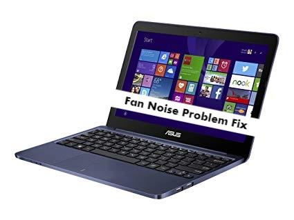 ASUS EeeBook X205TA Fan Noise