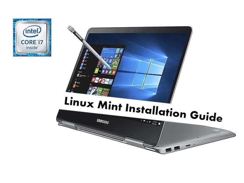 Samsung Notebook 9 Pro Linux Mint