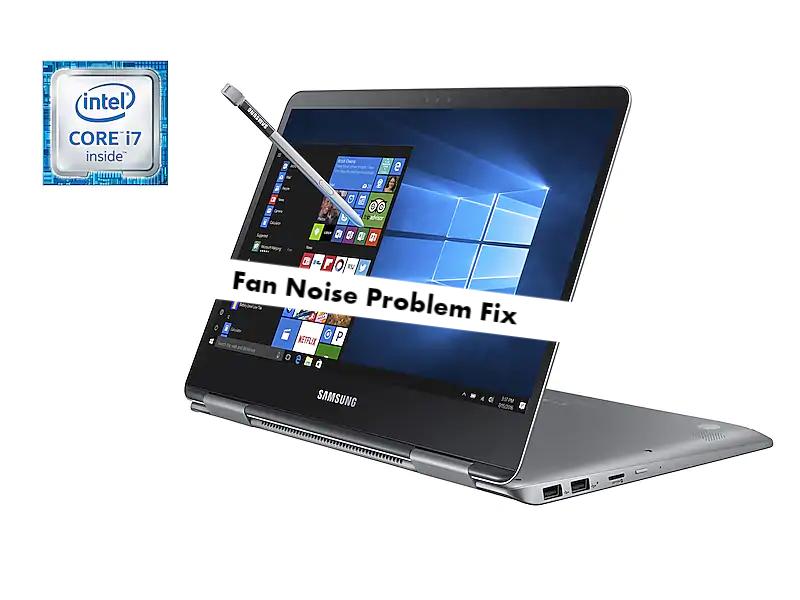 Samsung Notebook 9 Pro Fan Noise