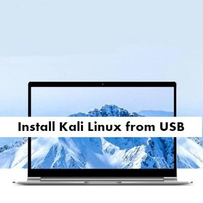 Teclast F15 Kali Linux