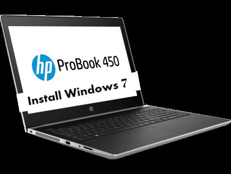 Install Windows 7 on HP ProBook 450 G5