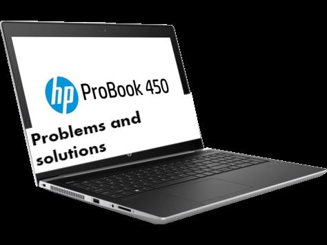 HP ProBook 450 G5 Problems