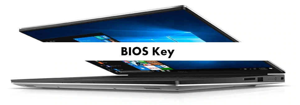 Dell XPS 15 9560 BIOS Key
