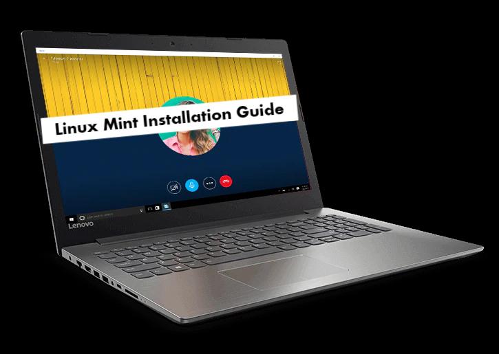 Lenovo Ideapad 320 Linux Mint