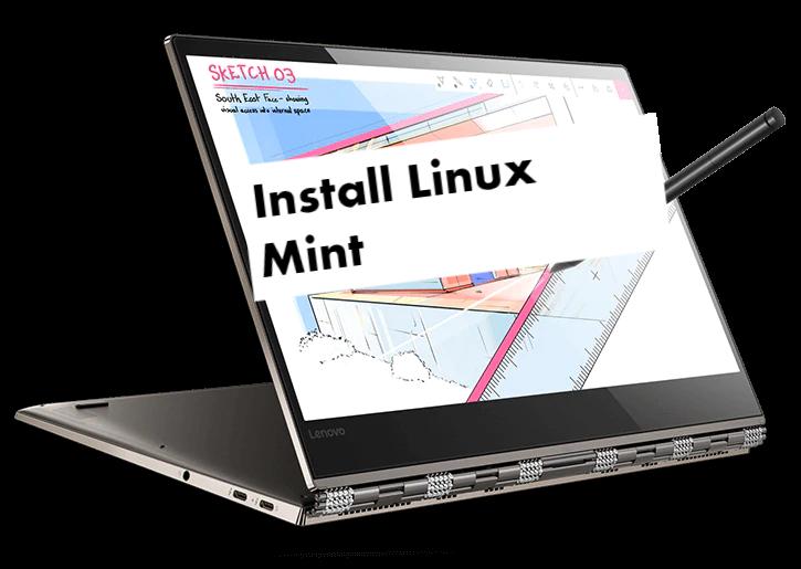 Lenovo Yoga 920 Linux Mint