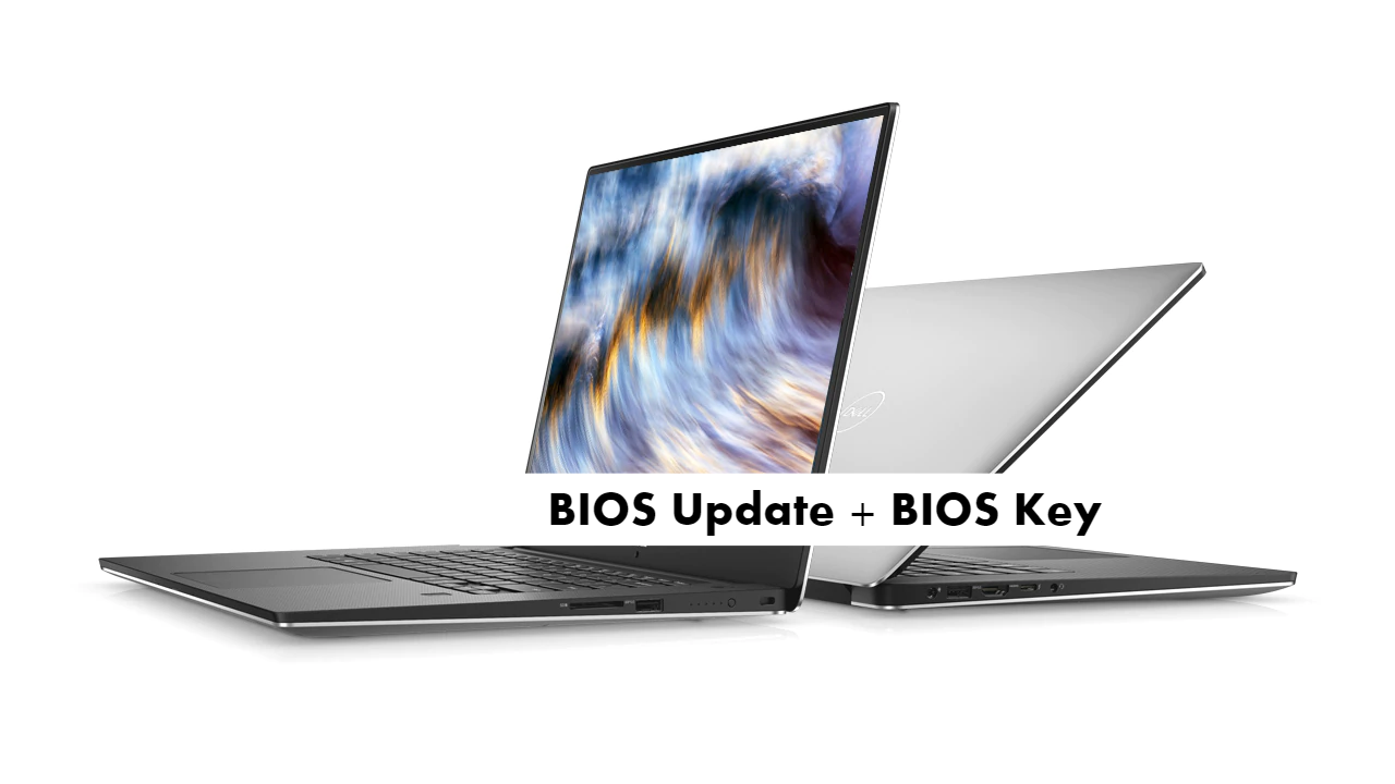 Dell XPS 15 9570 bios update