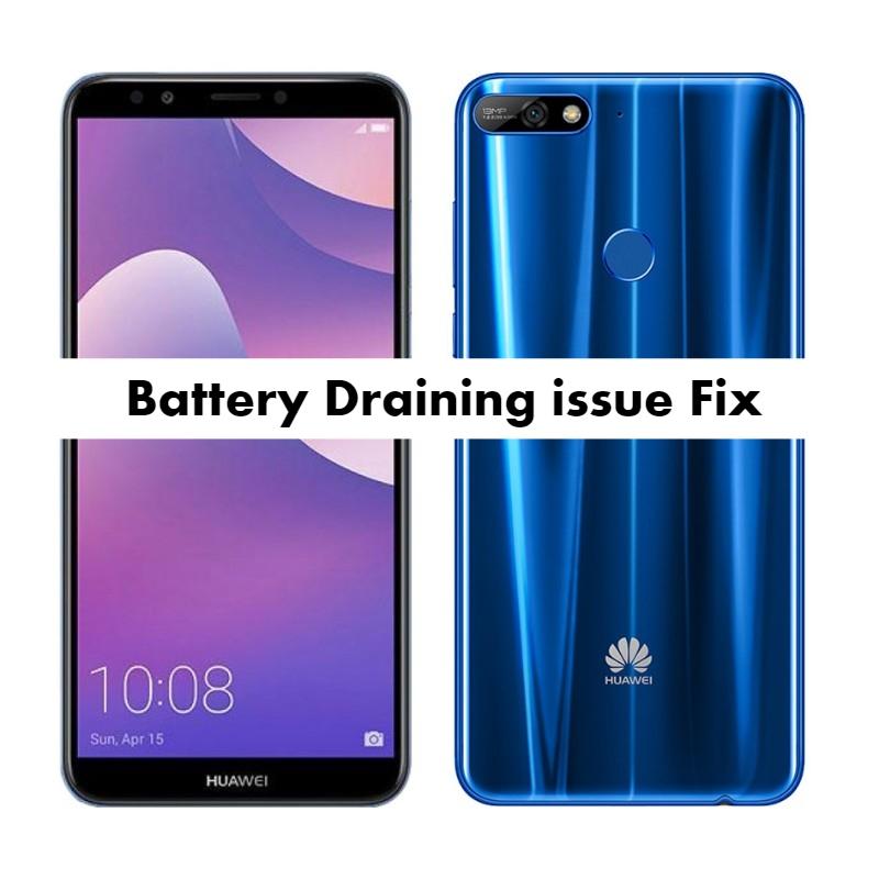 Huawei Y7 PrimeBattery Draining problem