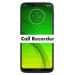 Motorola Moto G7 Power Call Recorder to record automatically