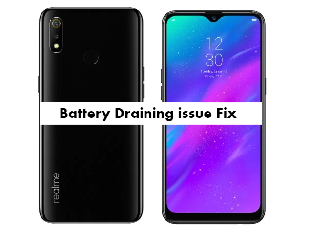Realme 3 Battery Draining issue fix