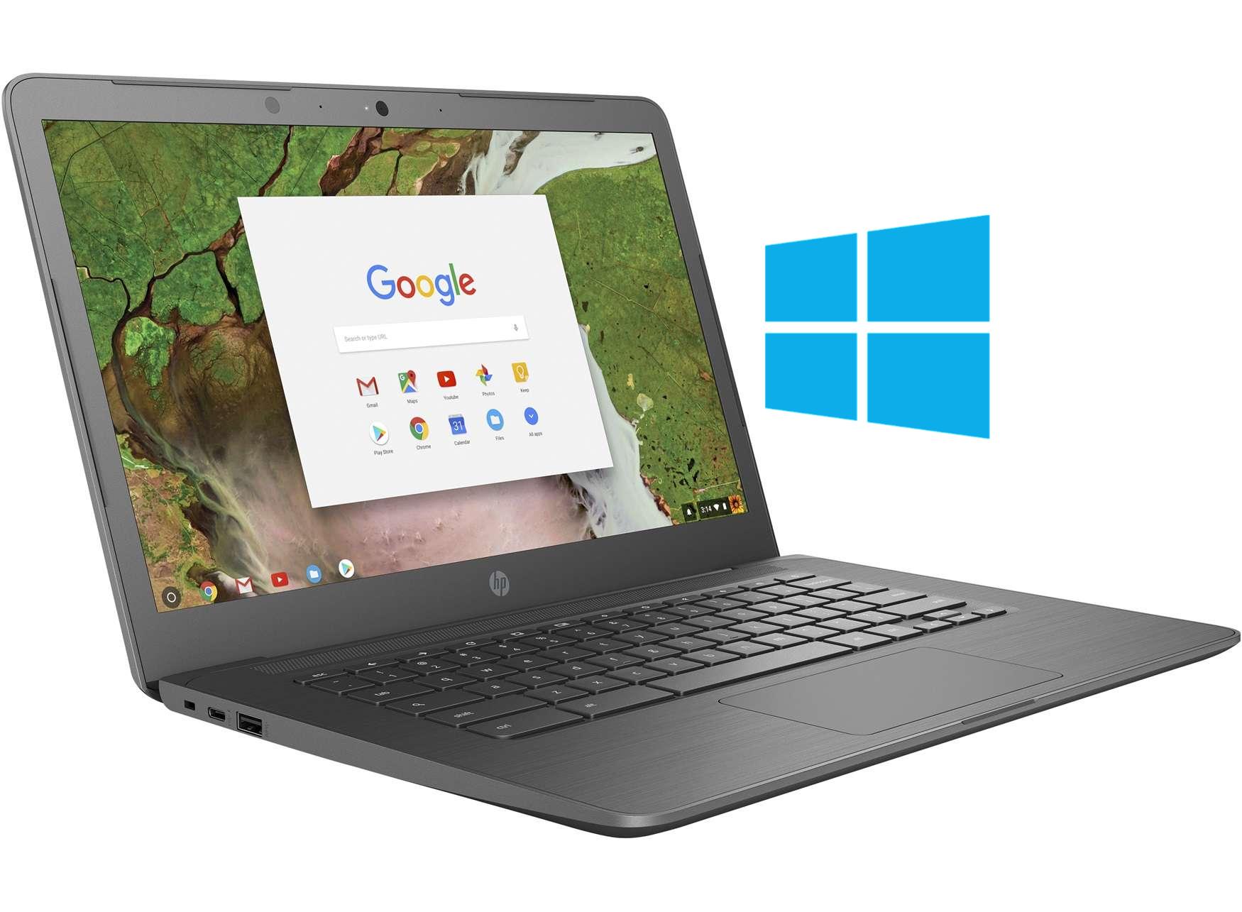 Install Windows 10 on HP Chromebook 14