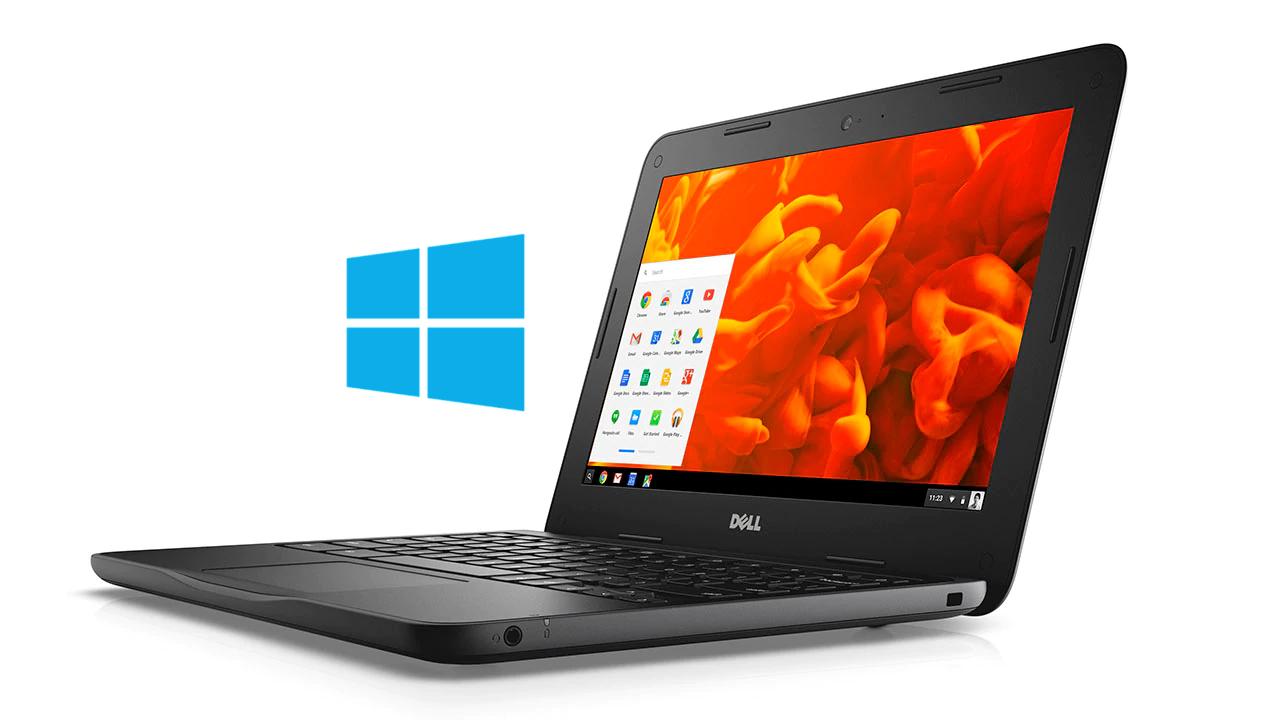 Install Windows 10 on Dell Inspiron Chromebook 11