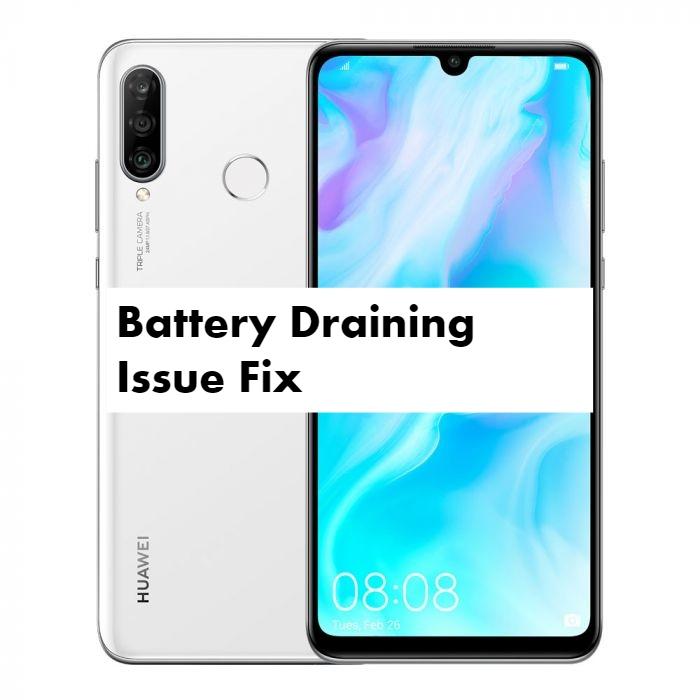 Huawei P30 Lite battery draining issue