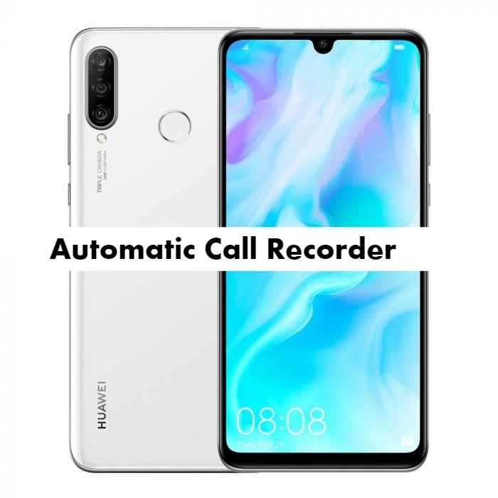 Huawei P30 Lite call recorder