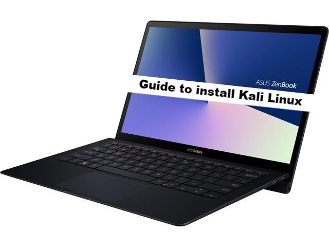 ASUS ZenBook S UX391UA kali linux