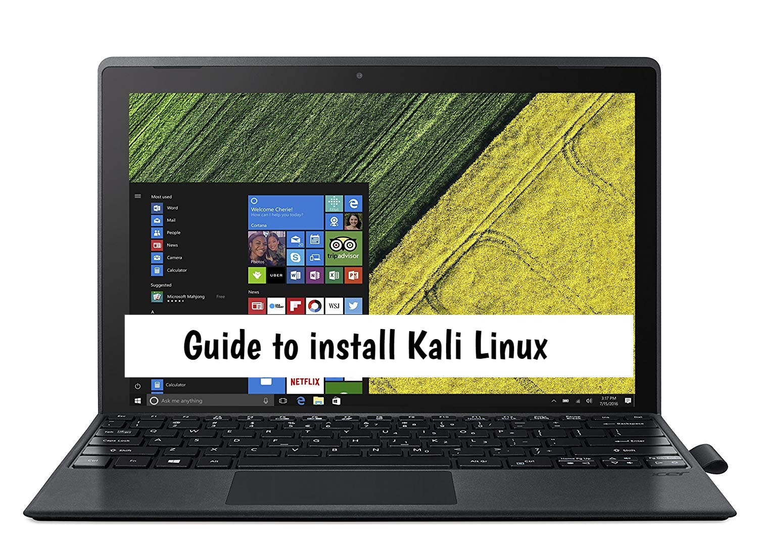 Acer Switch 3 Kali Linux