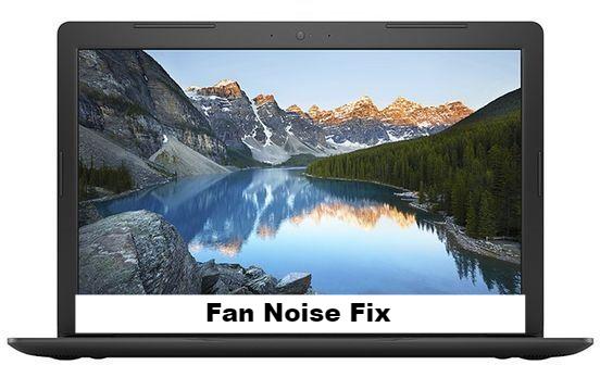 Dell Inspiron 5570 fan noise