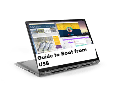 Lenovo Yoga 530 Boot from USB