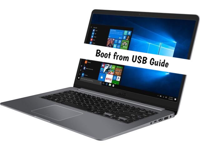 ASUS Vivobook boot from usb