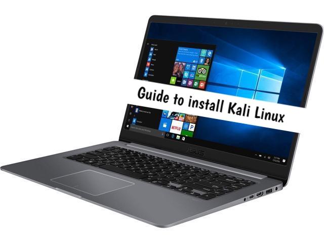 ASUS Vivobook Kali Linux