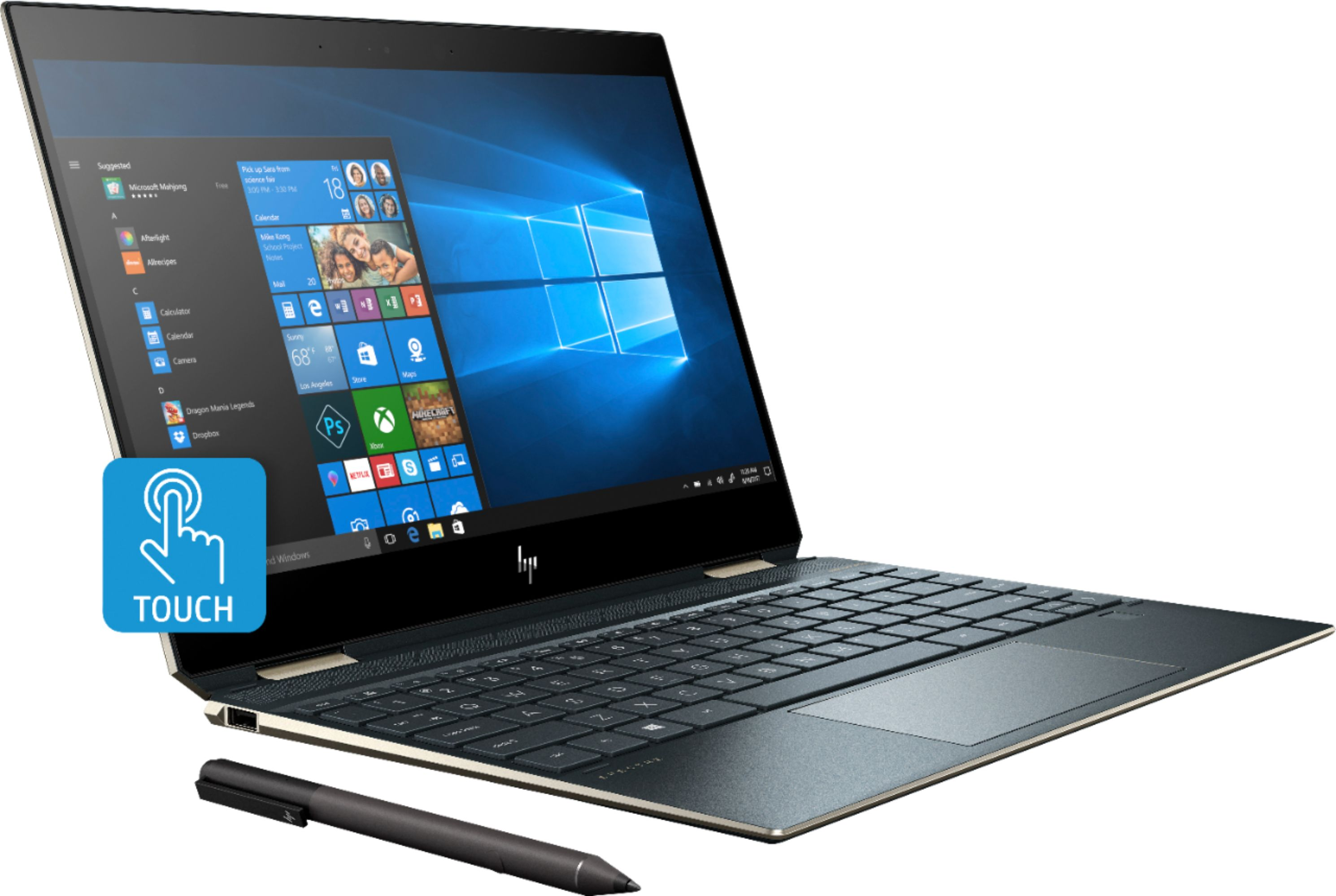 HP Spectre x360 touchpad not working