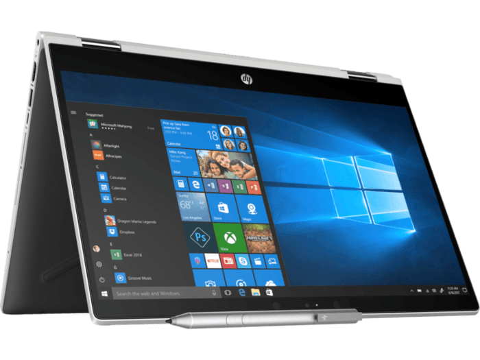 HP Pavilion x360 touchpad not working