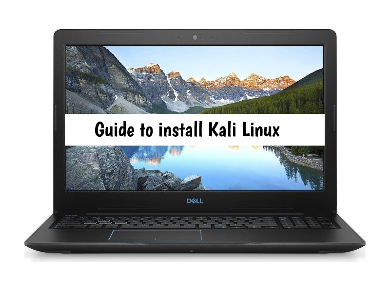 Dell G3 3579 Kali Linux
