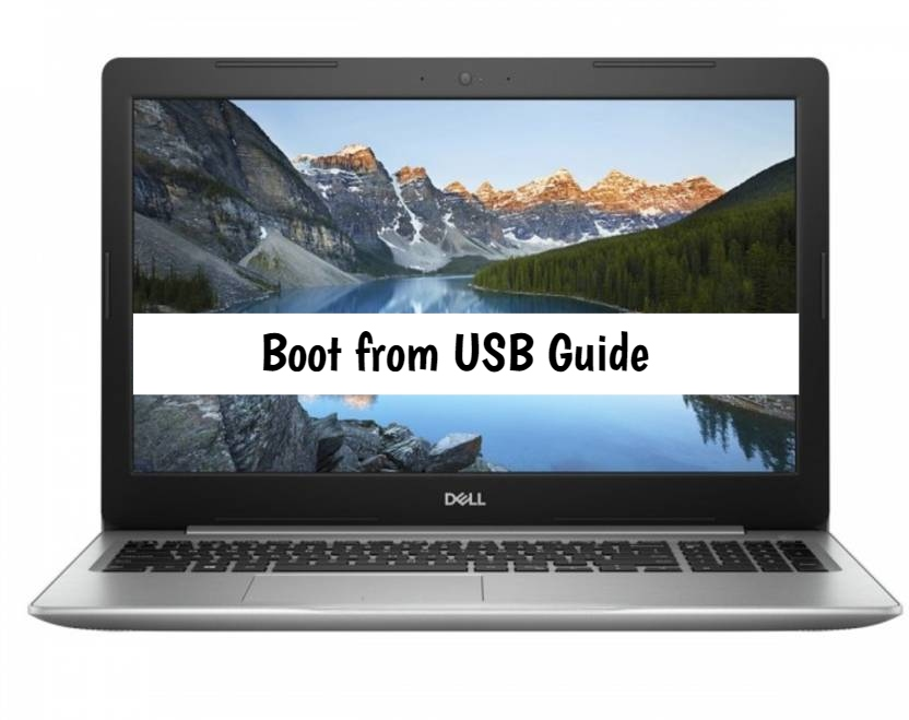 Dell Inspiron 15 5000 Boot from usb