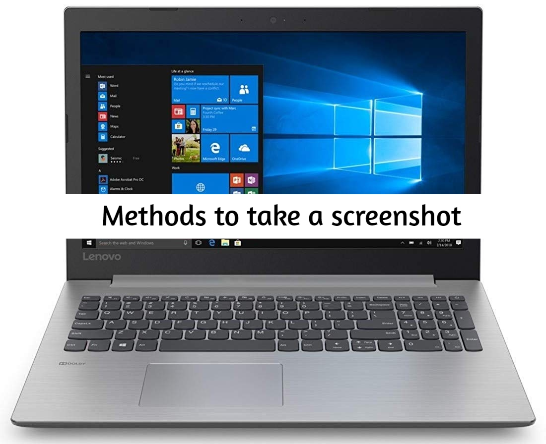 How to take a screenshot on Lenovo Ideapad 330