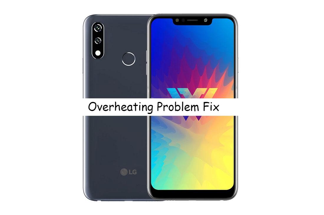 LG W10 Overheating problem fix