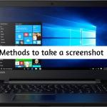 How to take a screenshot on Lenovo Ideapad 110