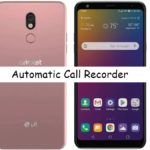 LG stylo 5 call recorder