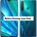 Realme 5 Pro battery draining issue