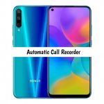 Honor Play 3 Call Recorder for recording all calls automatically