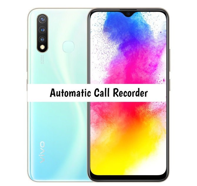 Vivo Z5i Call Recorder