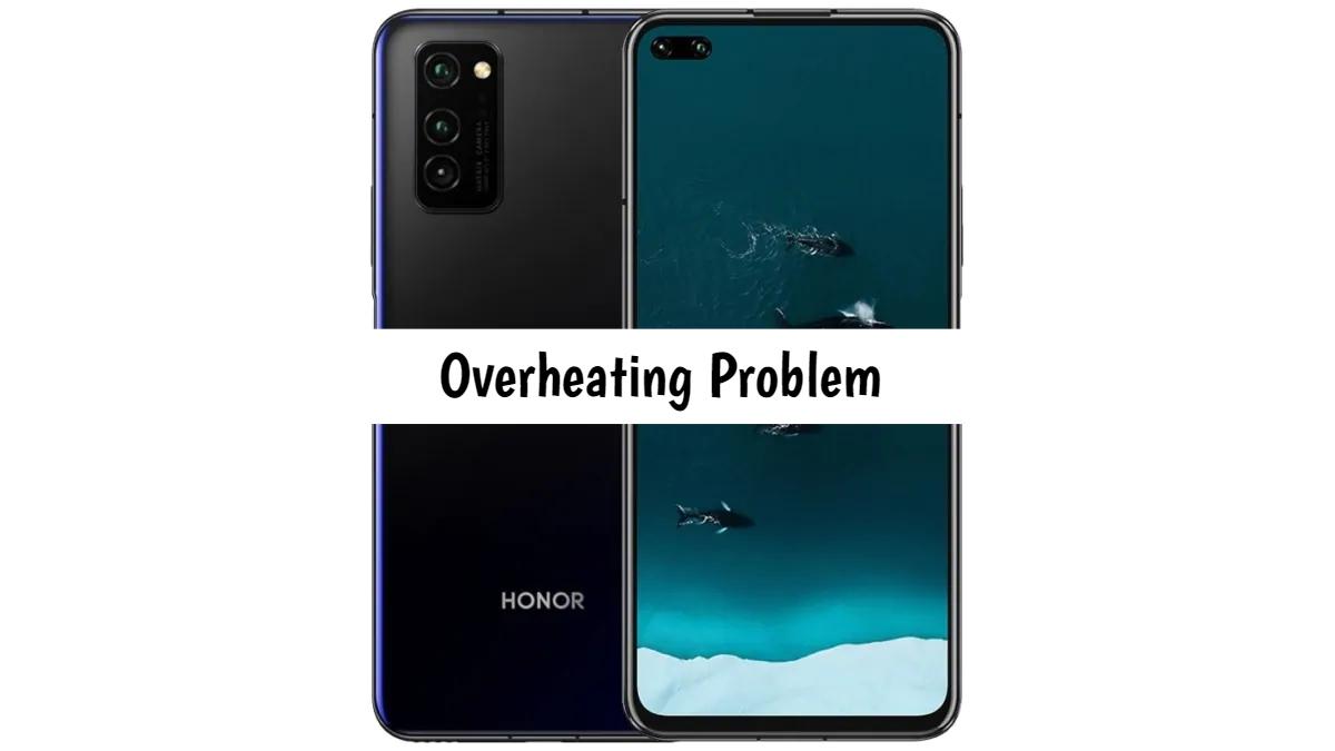Honor V30 overheating problem