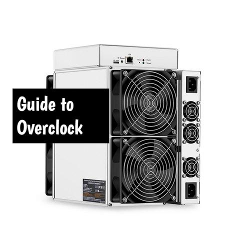 Overclock Antminer T17