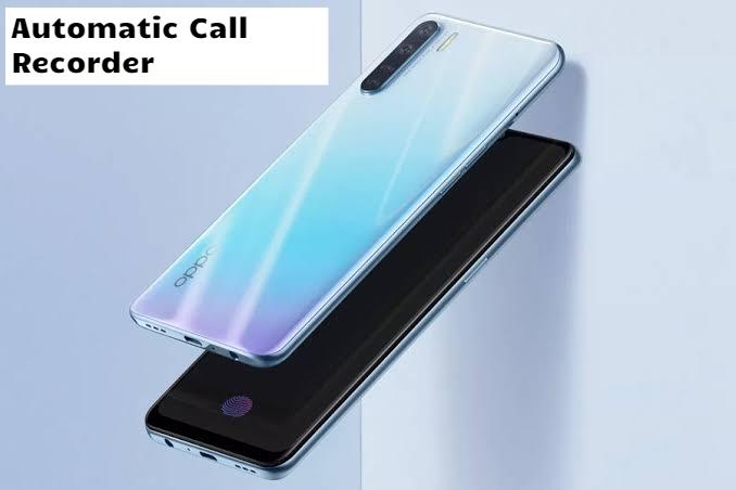 Oppo A8 Call Recorder