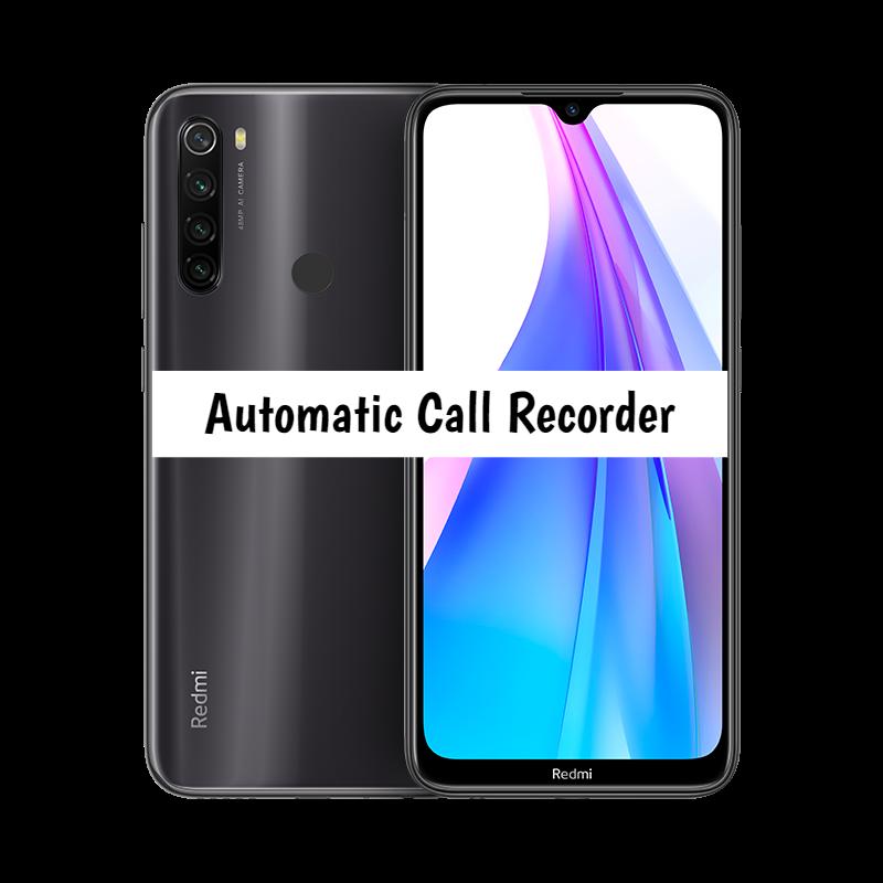 Redmi Note 8T Call recorder