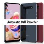 LG K41S Call recorder