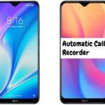 Redmi 8A Dual Call Recorder for recording all calls automatically