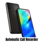 Motorola Moto G8 Power Call recorder