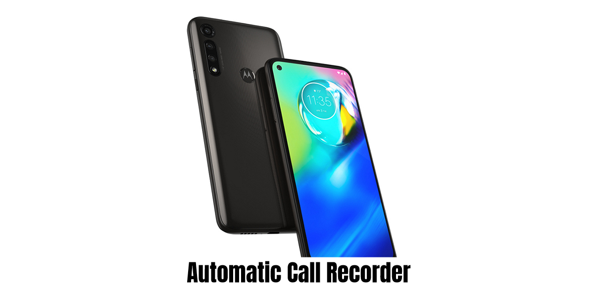 Motorola Moto G8 Power Call recorder