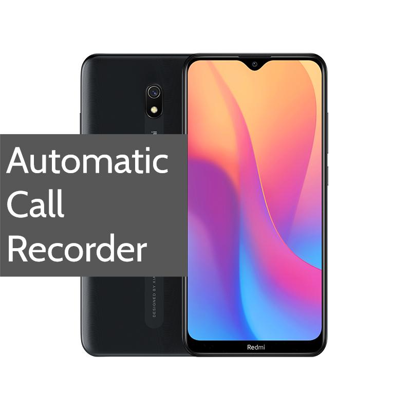 Redmi 8A Pro Call Recorder