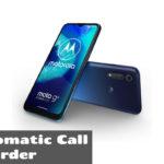 Motorola Moto G8 Power Lite Call Recorder