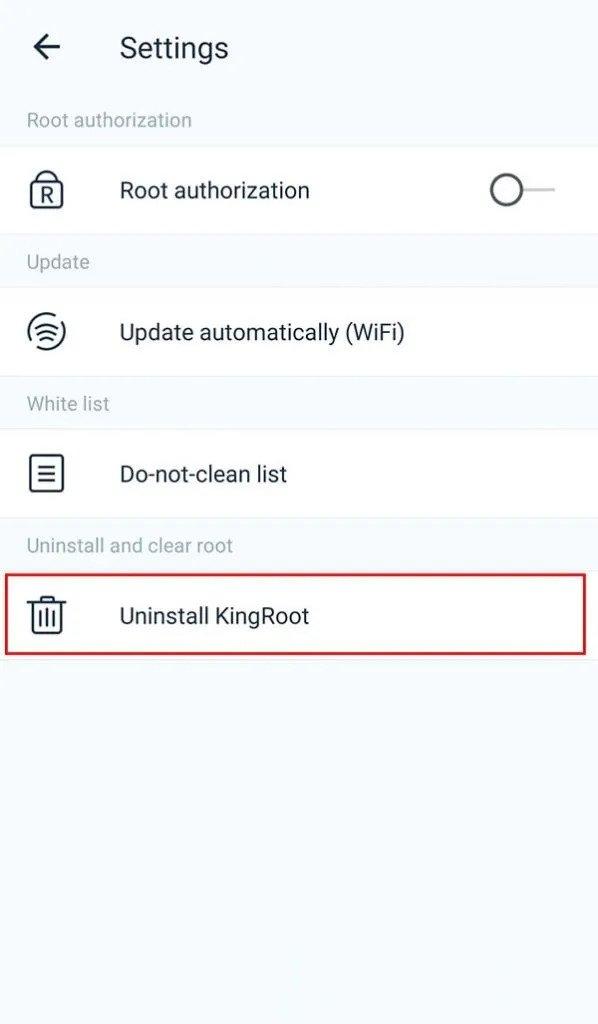 Uninstall Kingroot with Vivo X70 Pro