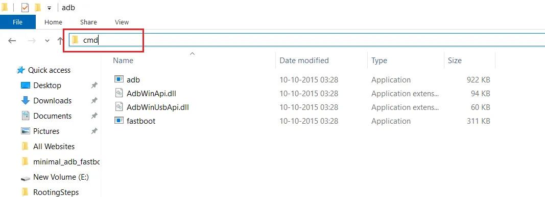 open adb command on your Samsung Galaxy F22